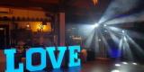 Dekoracja światłem, napis Miłość ,LOVE,ciężki dym, WSZYSTKO JASNE, Bydgoszcz - zdjęcie 5