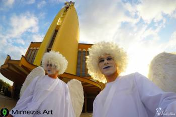Anioły na szczudłach i atrakcje weselne | Prezent i niespodzianka, Anioły na szczudłach Skępe