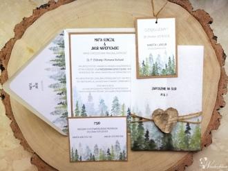 Papeteria ślubna i dodatki okolicznościowe, Zaproszenia ślubne Prabuty