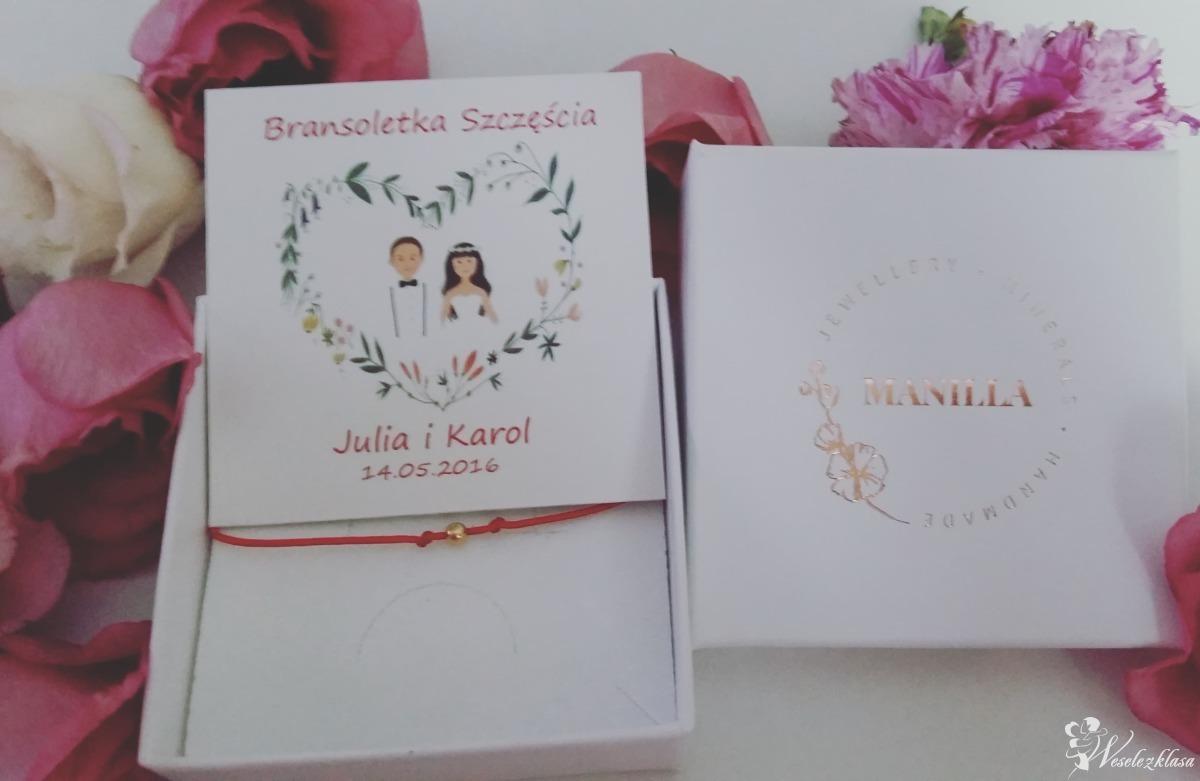 Bransoletki szczęścia-prezent dla gości weselnych Manilla-Store, Kraków - zdjęcie 1