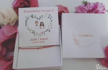 Bransoletki szczęścia-prezent dla gości weselnych Manilla-Store, Obrączki ślubne, biżuteria Szczucin