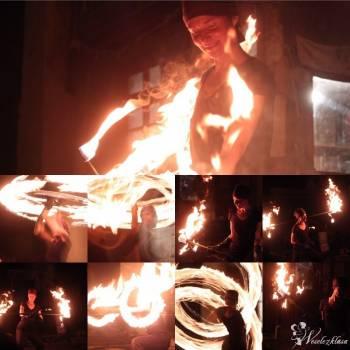 Niesamowite OGNIOWE  FIRESHOW ! - led show - POKAZY ŚWIATŁA - Ani Pelu, Teatr ognia Kraków