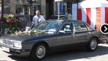 Zabytkowym Jaguarem do ślubu i nie tylko ., Samochód, auto do ślubu, limuzyna Chodecz