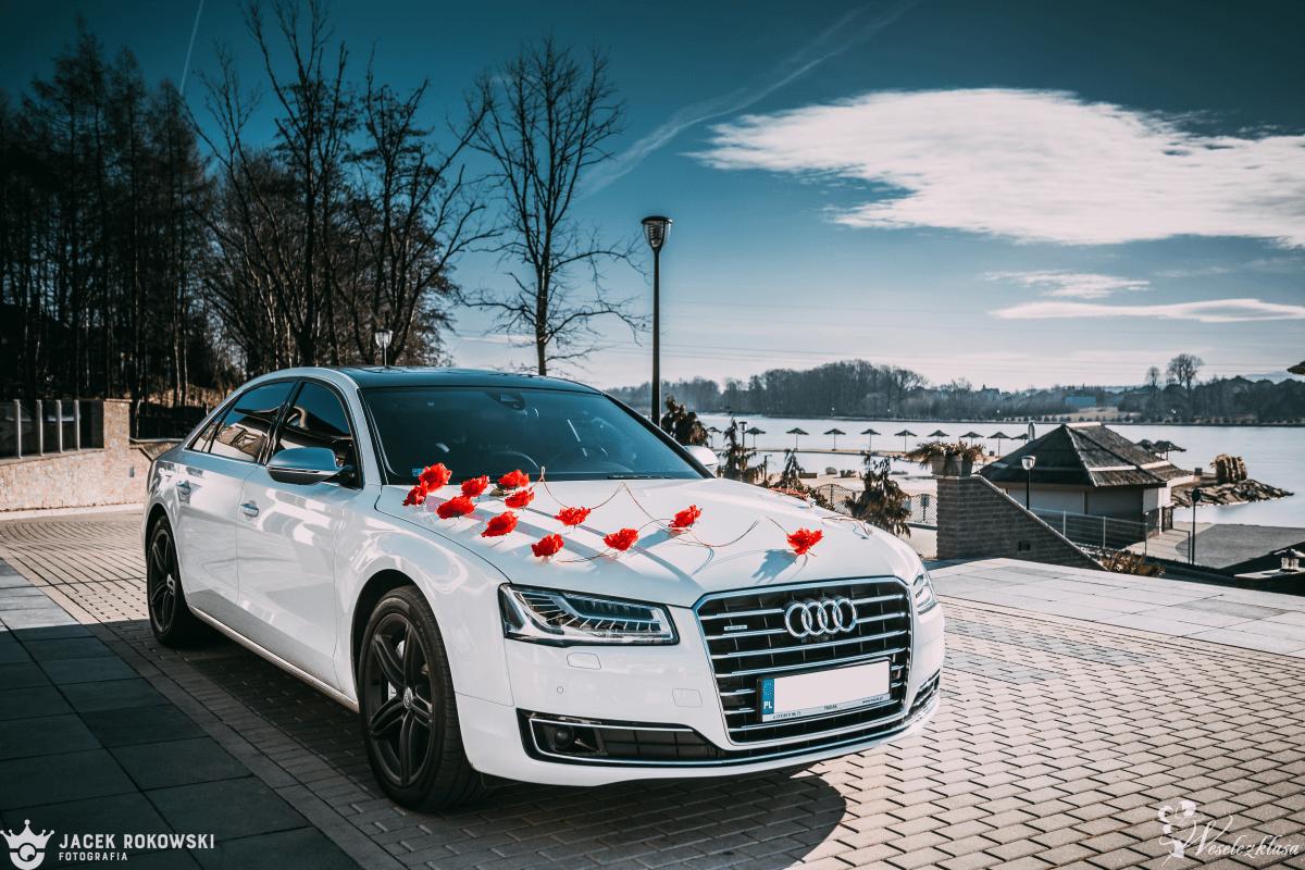 Biała Audi A8 Long | Wyjątkowa na Specjalne Okazje  | TROJAK Rental, Czaniec - zdjęcie 1