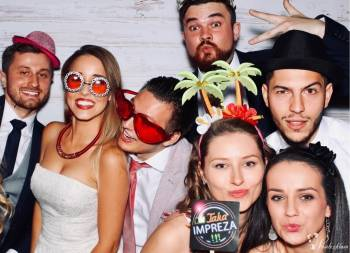FOTOBUDKA ! NAPIS LOVE ! KSIĘGI GOŚCI ! Konkurencyjne ceny!, Fotobudka, videobudka na wesele Aleksandrów Łódzki