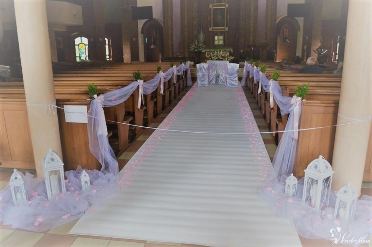 FELICITA - dekoracje ślubne i okolicznościowe, biały dywan GRATIS, Piasek - zdjęcie 1
