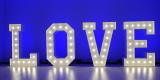 Napis LOVE   Ciężki dym   Dekoracja Światłem, Nowe Miasto-Folwark - zdjęcie 3