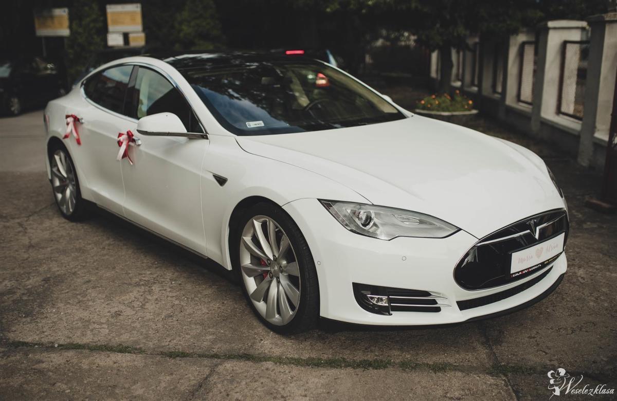 Tesla S P85D do Ślubu, 700 KM, 3.2 s do 100 km/h, Brodnica - zdjęcie 1