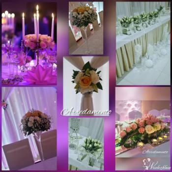 ARREDAMENTO studio dekoracji ślubno-weselnych, Dekoracje ślubne Chojnów