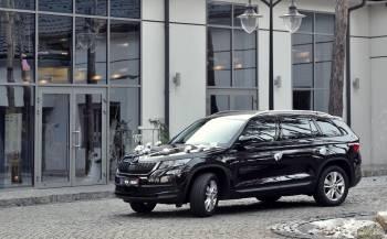 Samochód auto do ślubu SUV Skoda Kodiaq., Samochód, auto do ślubu, limuzyna Swarzędz
