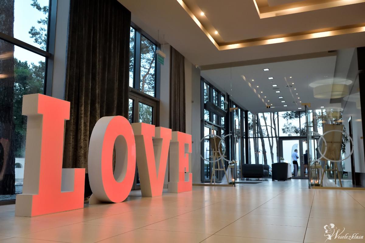 Napis LOVE 120cm led RGB (zmiana kolorów) i 70cm żarówki led od 100zł, Ostrów Wielkopolski - zdjęcie 1