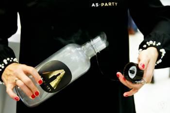 AS-PARTY - DRINKI w formie PARY do wdychania, Unikatowe atrakcje Warta