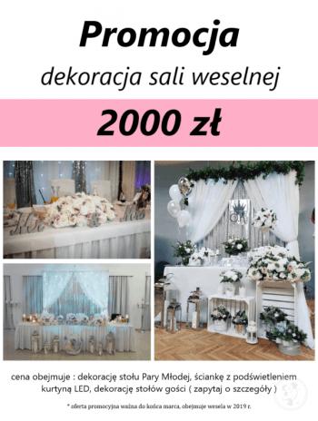 O.K. wedding decor- dekoracje ślubne i weselne, dekoracje imprez, Dekoracje ślubne Hajnówka