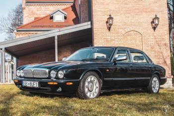 Jaguar Daimler Super V8, zielony, Samochód, auto do ślubu, limuzyna Czechowice-Dziedzice