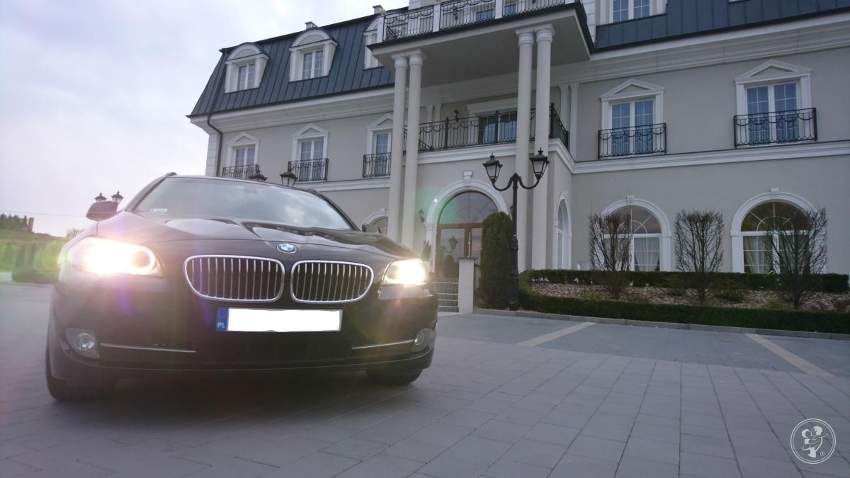 Auto do ślubu BMW 5 z szoferem BMW F11, Poznań - zdjęcie 1