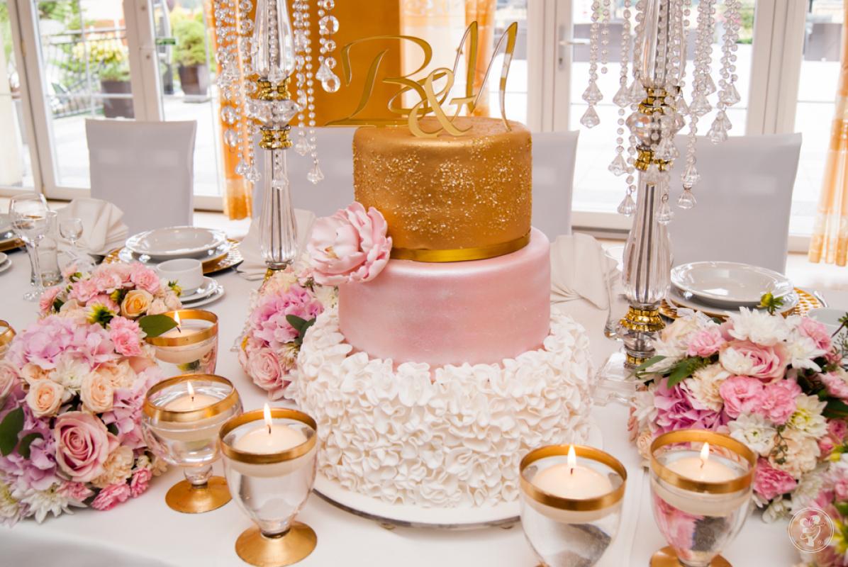 Tort weselny - Ciastkarnia Marysieńka, Gliwice - zdjęcie 1