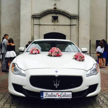 Wynajem Maserati Quattroporte VI, silnik Ferrari, Samochód, auto do ślubu, limuzyna Wodzisław Śląski
