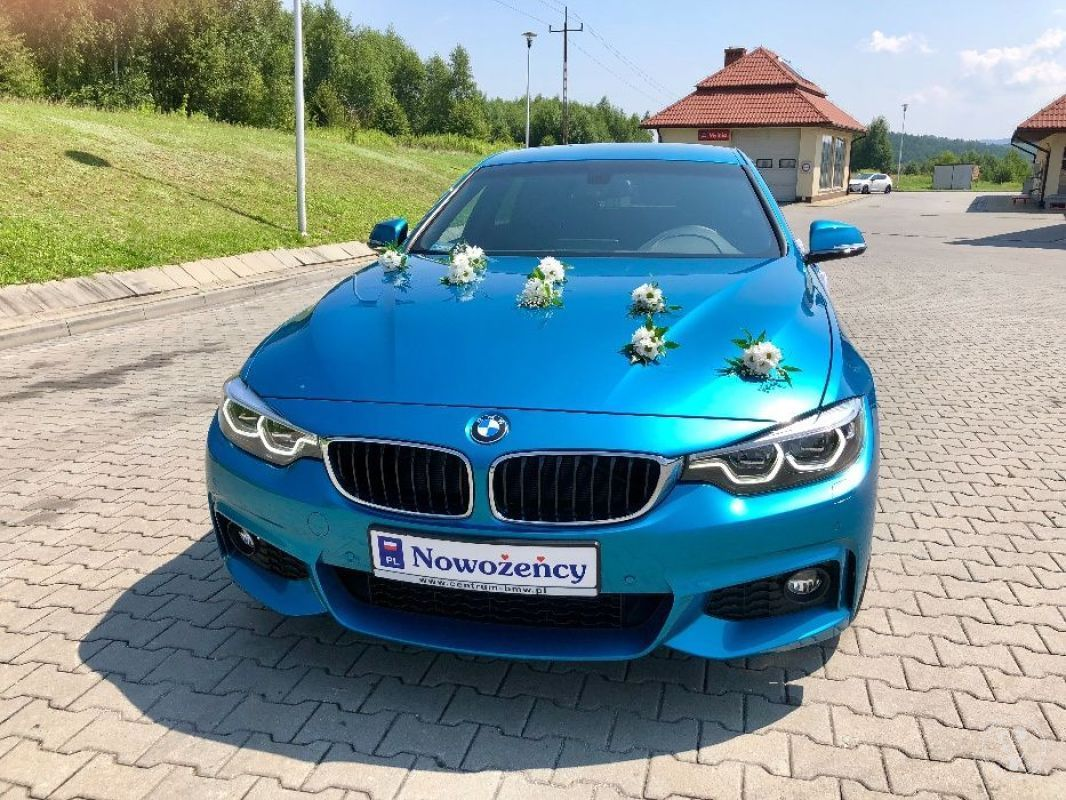 BMW 430i x-drive auto do Ślubu i na inne okazje, Kraków - zdjęcie 1