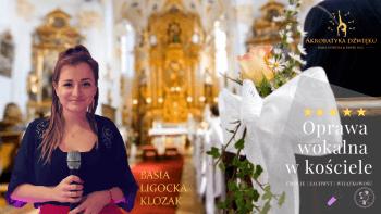 Akrobatyka Dźwięku   Oprawa wokalna ślubu   Basia Ligocka Klozak, Oprawa muzyczna ślubu Mogilno