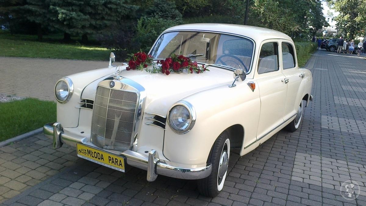 Zabytkowe  Mercedesy do ślubu-wynajem *Warszawa* Mercedes-Retro, Warszawa - zdjęcie 1