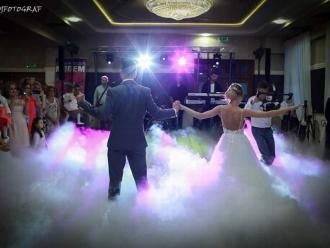 Taniec w chmurach Dym niski na pierwszy taniec,  Chełm