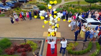 Prezent Balonowy - Pudło z balonami., Unikatowe atrakcje Międzyrzec Podlaski