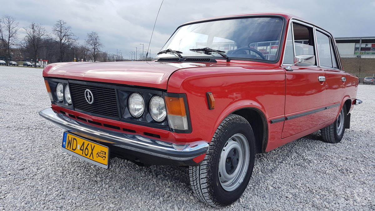 Wynajmę auto, samochód to duży Fiat 125p , pięknie zachowany, Warszawa - zdjęcie 1