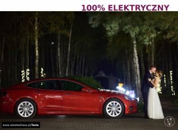 Elektryczne auto do ślubu Tesla S - lepsze od Audi BMW Jaguar Porsche, Samochód, auto do ślubu, limuzyna Tarnowskie Góry