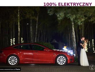 Elektryczne auto do ślubu Tesla S - lepsze od Audi BMW Jaguar Porsche,  Katowice