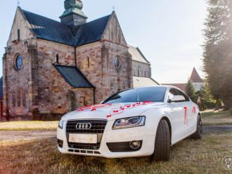 Auta do ślubu, Audi A5, VW PASSAT CC,  Piotrków Trybunalski