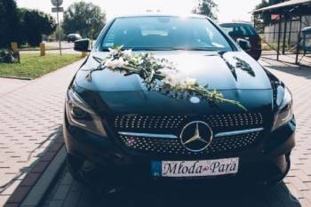 Samochód AUTO do ślubu – Mercedes CLA w wersji wyposażenia AMG !!!, Samochód, auto do ślubu, limuzyna Chodecz