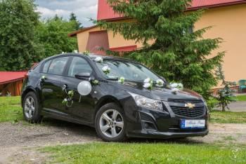 Wynajem samochodu na wesele i inne okazje Chevrolet Cruze Sanok/Lesko, Samochód, auto do ślubu, limuzyna Brzostek