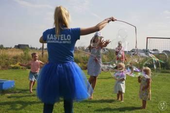 Kastelo- animacje weselne dla dzieci/zamek dmuchany/balony/bańki, Animatorzy dla dzieci Stargard