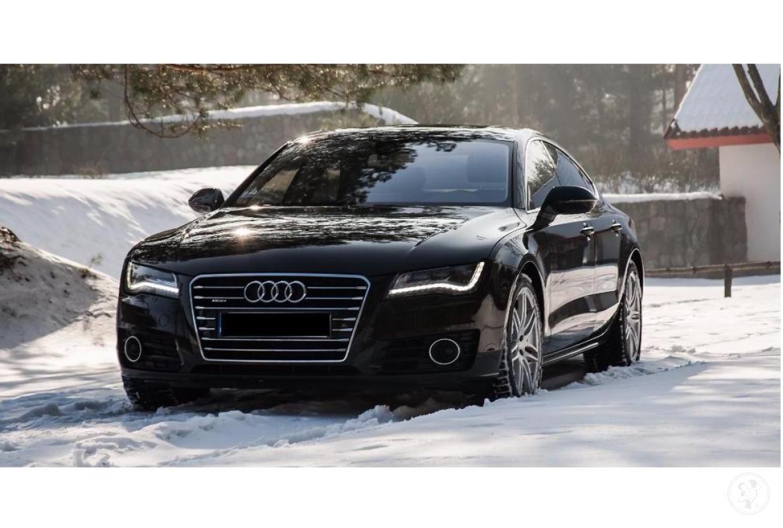 Auto do ślubu *Czarne* Audi a7, Brodnica - zdjęcie 1