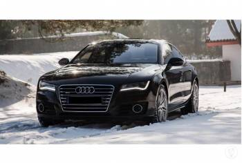 Auto do ślubu *Czarne* Audi a7, Samochód, auto do ślubu, limuzyna Świecie