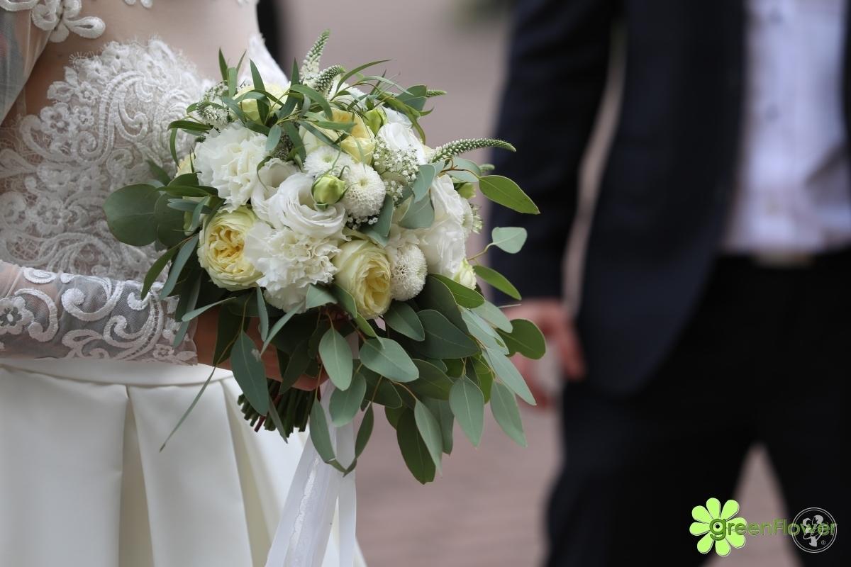 Bukiety ślubne, florystyka i dekoracje ślubne, Dąbrowa Górnicza - zdjęcie 1