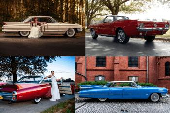 AUTO NA WESELE | KLASYK-ZABYTKOWE | KABRIOLET-CADILLAC 6 AUT MUSTANG, Samochód, auto do ślubu, limuzyna Trzcianka