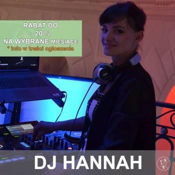 DJ HANNAH na Wasze wesele + dekoracja światłem GRATIS, DJ na wesele Końskie