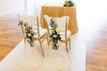 LILACORIO florystyka bukiety ślubne dekoracje sal i kościołów, Dekoracje ślubne Skała