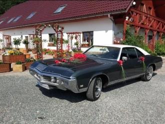 Auto do ślubu Buick Riviera 1969 klasyk 6 osobowy,  Dzierżoniów