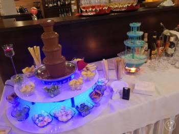 Fontanna czekoladowa wesele komunia osiemnastka urodziny, Czekoladowa fontanna Prabuty