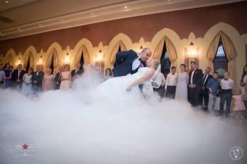 Ciężki dym, Sztuczny śnieg, Bańki mydlane, Dekoracja światłem, Piana., Ciężki dym Zakroczym