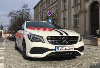 MERCEDES CLA AMG WHITE ART EDITION, Samochód, auto do ślubu, limuzyna Warszawa