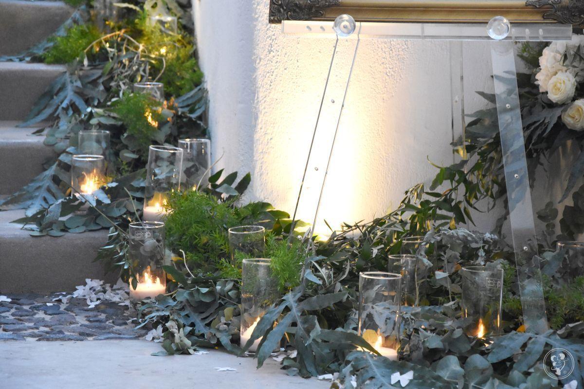 Dekoracja sal weselnych, dekoracja kościoła ślub - Kwiaty i dekoracje, Kraków - zdjęcie 1