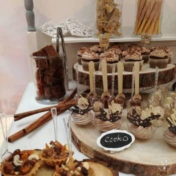 Sweet Bar, Słodki Stół, Candy Bar, Słodki kącik na weselu Głogów