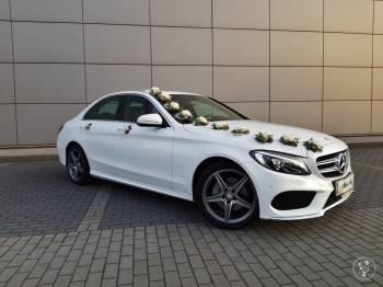 Auto do ślubu/Mercedes klasa C, Samochód, auto do ślubu, limuzyna Łazy