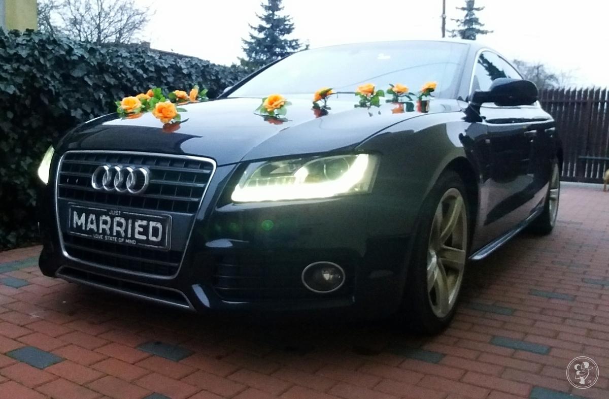 Audi A5 sportback , Jeep Commander do ślubu, Kalisz - zdjęcie 1