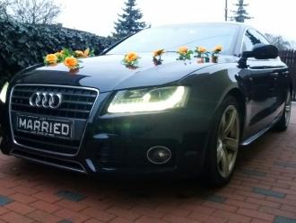 Audi A5 sportback , Jeep Commander do ślubu,  Kalisz
