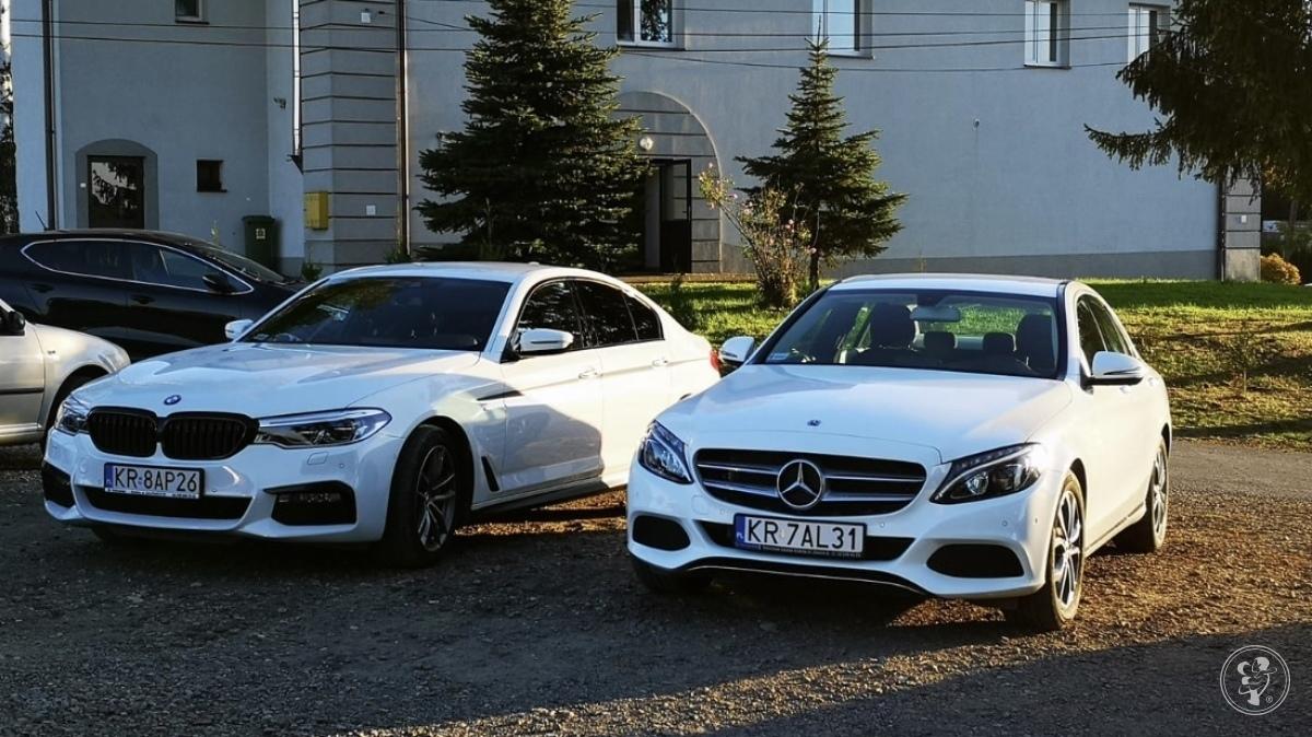 Auto Samochód do Ślubu BMW 5 M-Performance  BMW  X6 M50d   Mercedes C, Skawina - zdjęcie 1