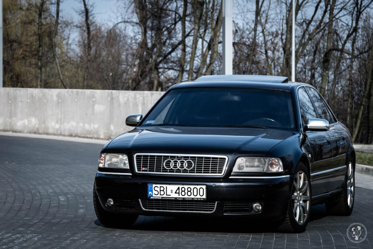 Audi S8 D2 4.2 V8 - elegancka limuzyna do ślubu, Lędziny - zdjęcie 1